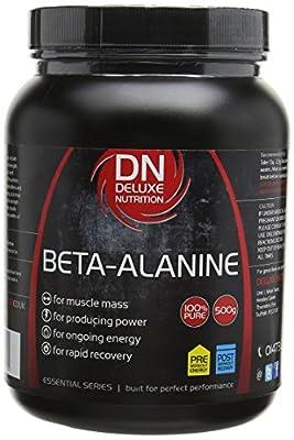 Deluxe Nutrition 500g Beta Alanine Powder Tub