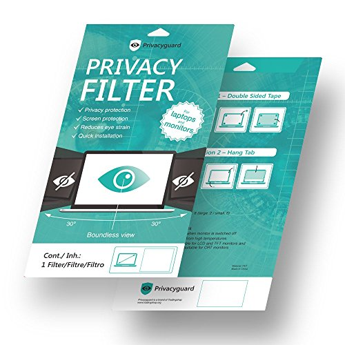 Privacyguard / Blickschutz Folie Filter Privacy 60 Grad / Für Laptop Notebook Monitor / 12,5 Zoll / 16:9 Widescreen (12,5 Zoll - 31,6cm) Test