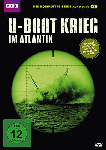 U-Boot Krieg im Atlantik - Die komplette Serie [3 DVDs] (Boot Andrew)