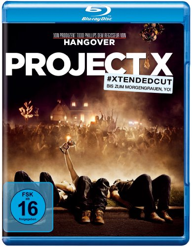 Cut) [Blu-ray] (Project X Film)