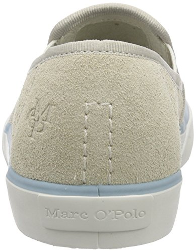 Marc O'Polo Sneaker, Baskets Basses femme Blanc - Weiß (offwhite 110)