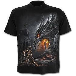 Spiral Dragon Slayer Camiseta Negro L