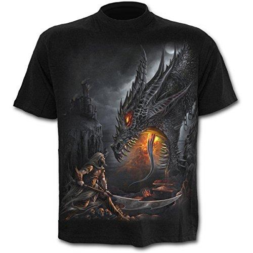 Spiral Dragon Slayer Camiseta Negro XXL
