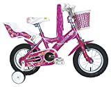 Umit J1251 Bicicleta Infantil, Niñas, Rosa, 12