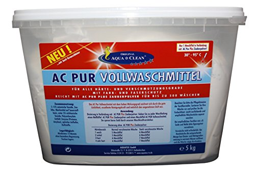 AQUA CLEAN PUR Vollwaschmittel Farb-& Faserschutz 5kg