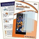 2x mumbi Displayschutzfolie für Sony Xperia Z1 Schutzfolie AntiReflex matt