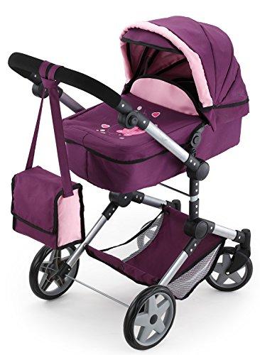 Bayer Design - Cochecito de muñeca, Combi Neo Pro, color rosa (18557AA)