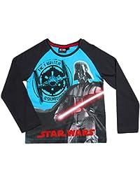 Star Wars Kollektion 2017 Langarmshirt 116 122 128 134 140 146 152 Jungen Neu Pullover Darth Vader Tie Fighter