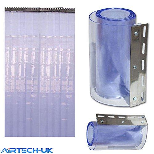 Cortina tira Airtech puerta congelador, 1m x 2m