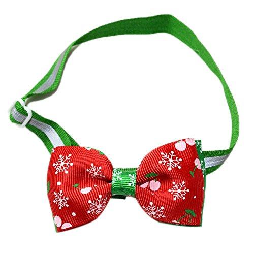 Andensoner Einstellbare Hundehalsband Weihnachten Pet Decor Supplies