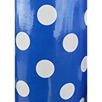 Blue Royal PVC Vinyl Wipe Clean Oilcloth Tablecloth