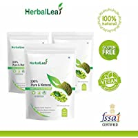 HerbalLeaf Pure & Natural Green Coffee Beans Powder - Pack of 3