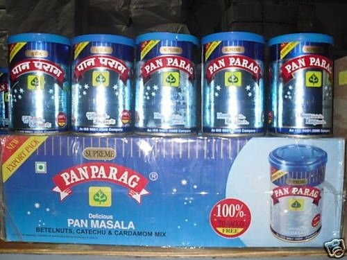 10 CANS! Pan Parag 100gm each Paan Masala Supreme Tin EXPORT QUALITY EXP  MAY2017  #GH45843 3468-T34562FD807321