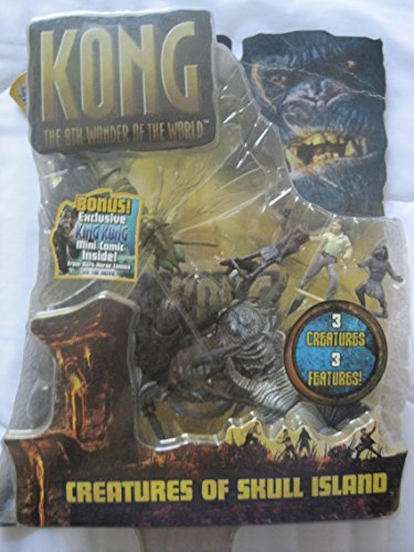 King Kong Action Figures Creatures Of Skull Island -