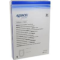 AQUACEL Foam adhäsiv Ferse 14x19,8 cm Verband 5 St Verband preisvergleich bei billige-tabletten.eu
