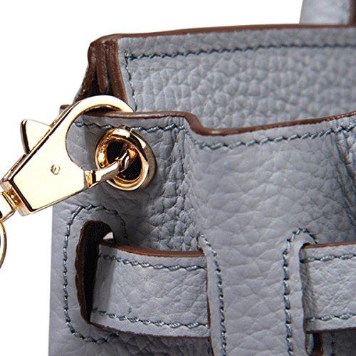 Platinum Lychee Modello Spoof Leather Mini Europa E Le Borse Degli Stati Uniti RoseRed