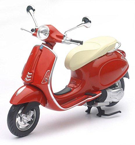 Preisvergleich Produktbild 2013 Vespa Primavera [NewRay 57553], Rot, 1:12 Die Cast