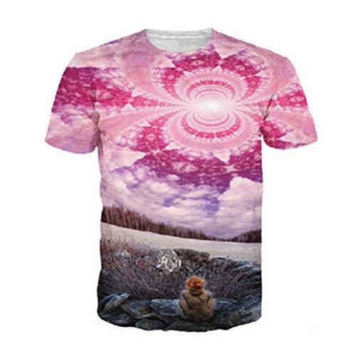 Men's 3D Green Tupac Printed Punk Rock Short Sleeve Tee Shirt top 20