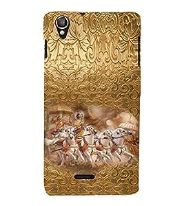 PRINTVISA Religious Krishna Case Cover for LAVA IRIS X800/LAVA IRIS 800