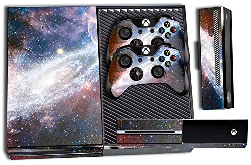 Designer Skin Sticker for the Xbox One Console With Two Wireless Controller Decals Nebula 51HL8sytjpL