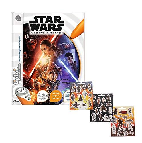 Ravensburger tiptoi ® Buch - Star Wars ™ Episode 7 - Das Erwachen der Macht + Gratis Star Wars (Der Auf Ganzen Masken Welt)