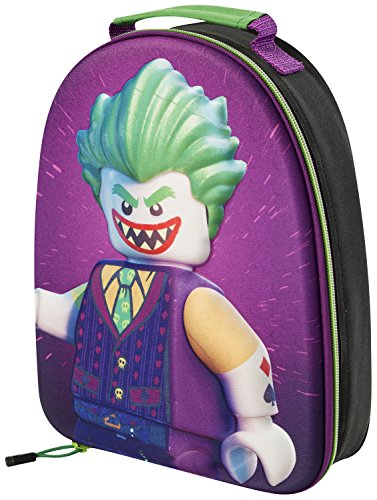 Price comparison product image THE LEGO BATMAN 'JOKER' 3D LUNCH BAG BACKPACK CHILDRENS SCHOOL TRIPS 9032