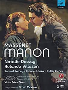 Massenet Manon [DVD] [2008]