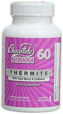 Chocolate Banana Thermite with Acai Berry and Caffeine - Pack of 60 Capsules from Chocolate Banana