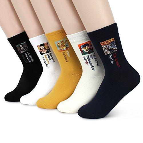 Intype Damen Socken Gr. 36-39, Crew(fa15) 5pairs