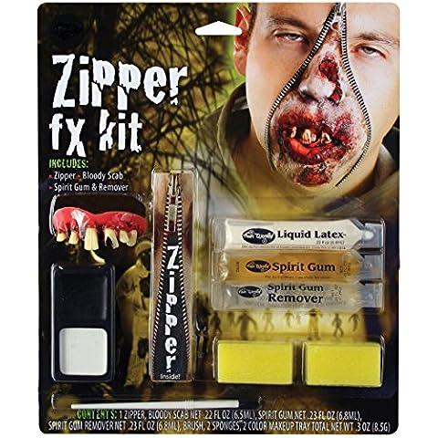 Zombie Deluxe con cremallera FX Kit de carácter