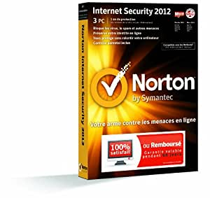 Norton internet security 2012 (3 postes, 1 an)