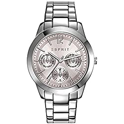 Esprit Angie Women's Multifunctional Watch silver/rosa ES108422001