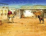 Bethlehem Adventskalender mit Aufkleber