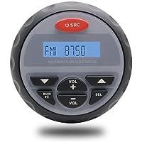 10,2 cm Bateau imperméable Marine Radio AM FM stéréo Bluetooth Audio Stéréo Lecteur MP3 pour Spa UTV ATV Moto Voiture