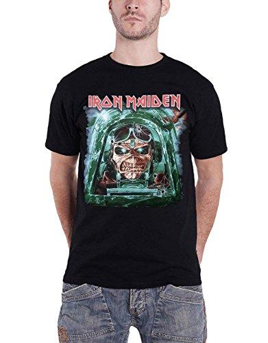 Iron Maiden Aces High Gunner maiden England 2014 offiziell Nue tour T Shirt (Maiden-aces High Iron)