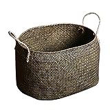 Panier de rangement Rotin pot de fleur, approprié au jouet, au pot de fleur de...