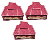 #5: Abhinidi Multipurpose High Quality Blouse cover Travelling pouches -Pack of 3 pcs