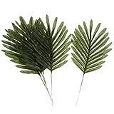 Homyl 5 Stück Groß Palmen Grün Kunstblätter Deko Künstliche Blätter, Wohnkultur - 2