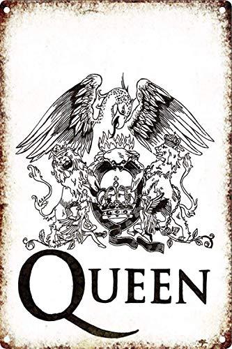 HALEY GAINES Queen Rock Placa Cartel Póster Pared