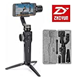 Zhiyun Smooth 4 3-Axis Handheld Gimbal Stabilizer Compatible with Smartphones Like iPhone X 8 7 Plus 6 Plus Smartphones Vertigo Shoot Phonego Mode Focus Pull & Zoom Capability(Some function can not support Android Temporarily)