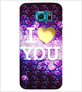 PrintDhaba Quote D-3247 Back Case Cover for SAMSUNG GALAXY S6 (Multi-Coloured)