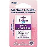 Aiguilles machine double universelle–Taille 80/12–3mm