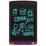 Yajiemei 8,5 Pouces LCD Conseil d'écriture, Peut être utilisé for l'étude de Peinture for Enfants, Bureau de Projet de Message (Color : Red)...