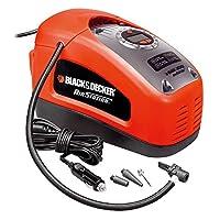 Black & Decker Asi300/Qs Hava Kompresörü, Kırmızı/Siyah