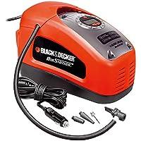 BLACK+DECKER ASI300-QS - Compresor de aire, 160 PSI, 11 bar, Multicolor (Rojo/Negro)