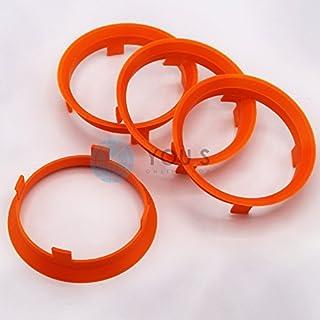 4 x ZENTRIERRINGE DISTANZRING für ALUFELGEN A601581 60,1 - 58,1 mm AEZ, Dezent, Dotz, Enzo