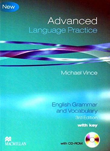 ADV LANG PRACT +Key Pk 3rd Ed: Student Book Pack with Key (Language Practice)