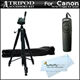 Professional 72 Inch. Camera Tripod + RS...