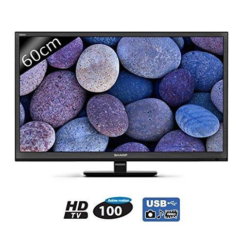 Sharp LC-24CHE4000E 60 cm ( (24 Zoll Display),LCD-Fernseher,100 Hz )