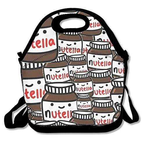 Amayay Daypacks Erwachsene Vintage Backpack Stylisch Fondos Tumblr Nutella Lunch Taschen Einfacher Stil Für Frauen Für Erwachsene Kinder Mädchen Und Teenager Mädchen